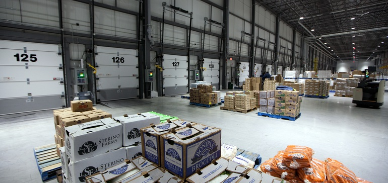 warehouse or store