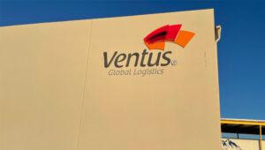 Ventus Global Logistics Side of Building