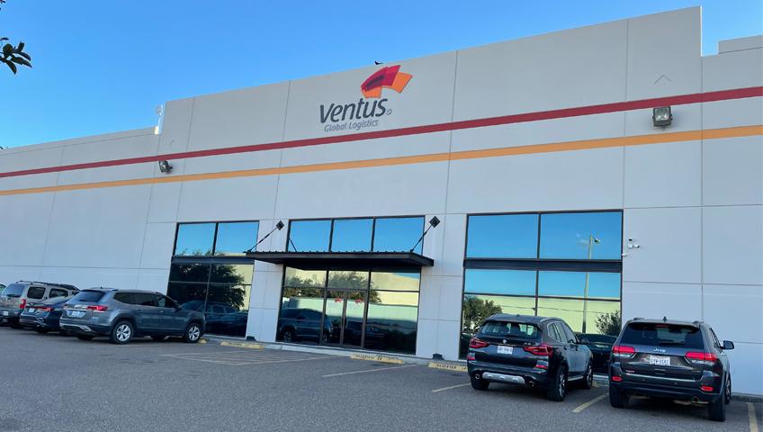 Ventus Global Logistics Front Entrance